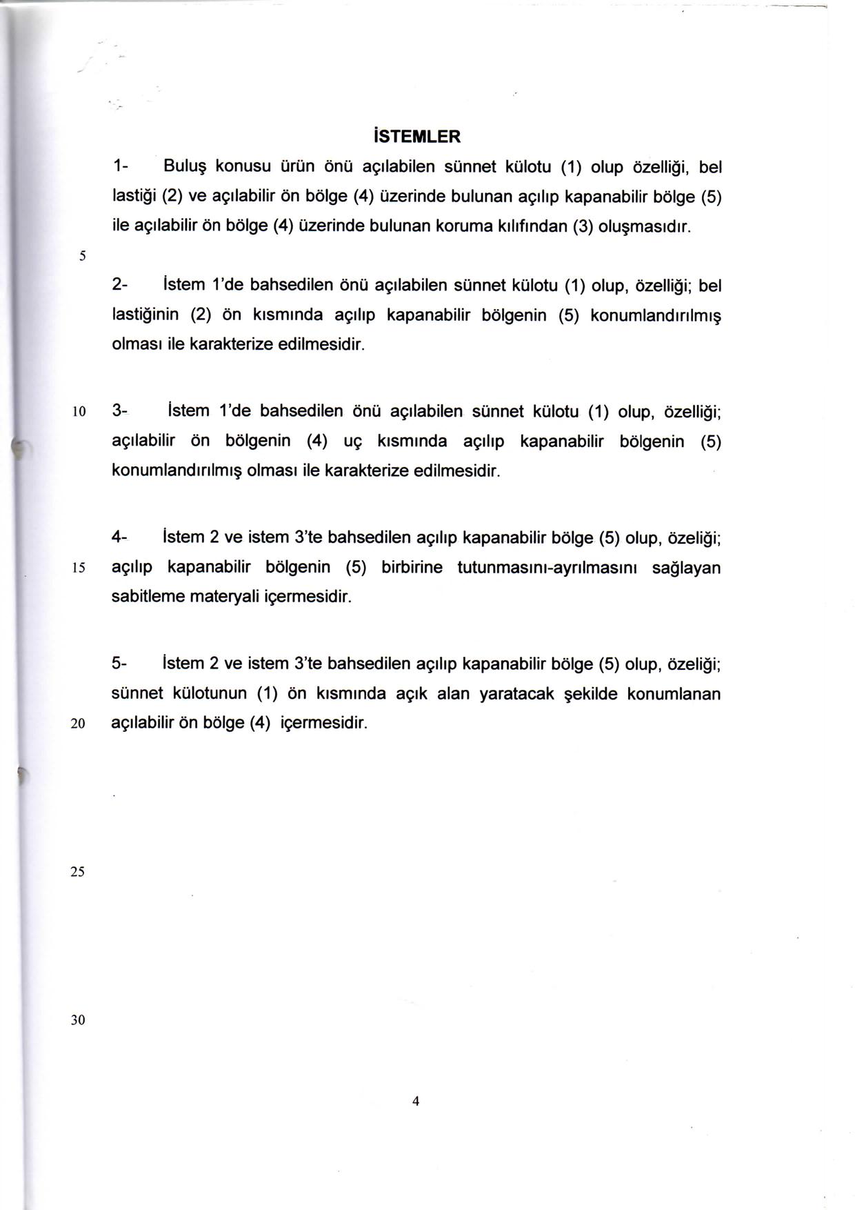 Önden Açılır Sünnet Külodu Patent 6