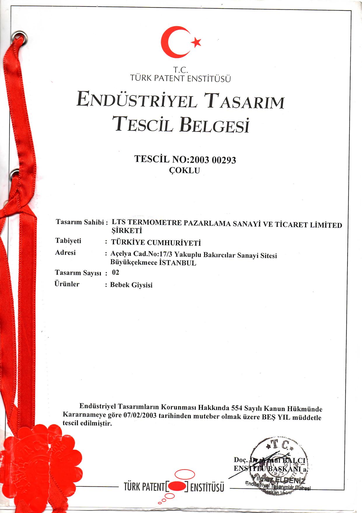 Kundak Havlu Patent 1