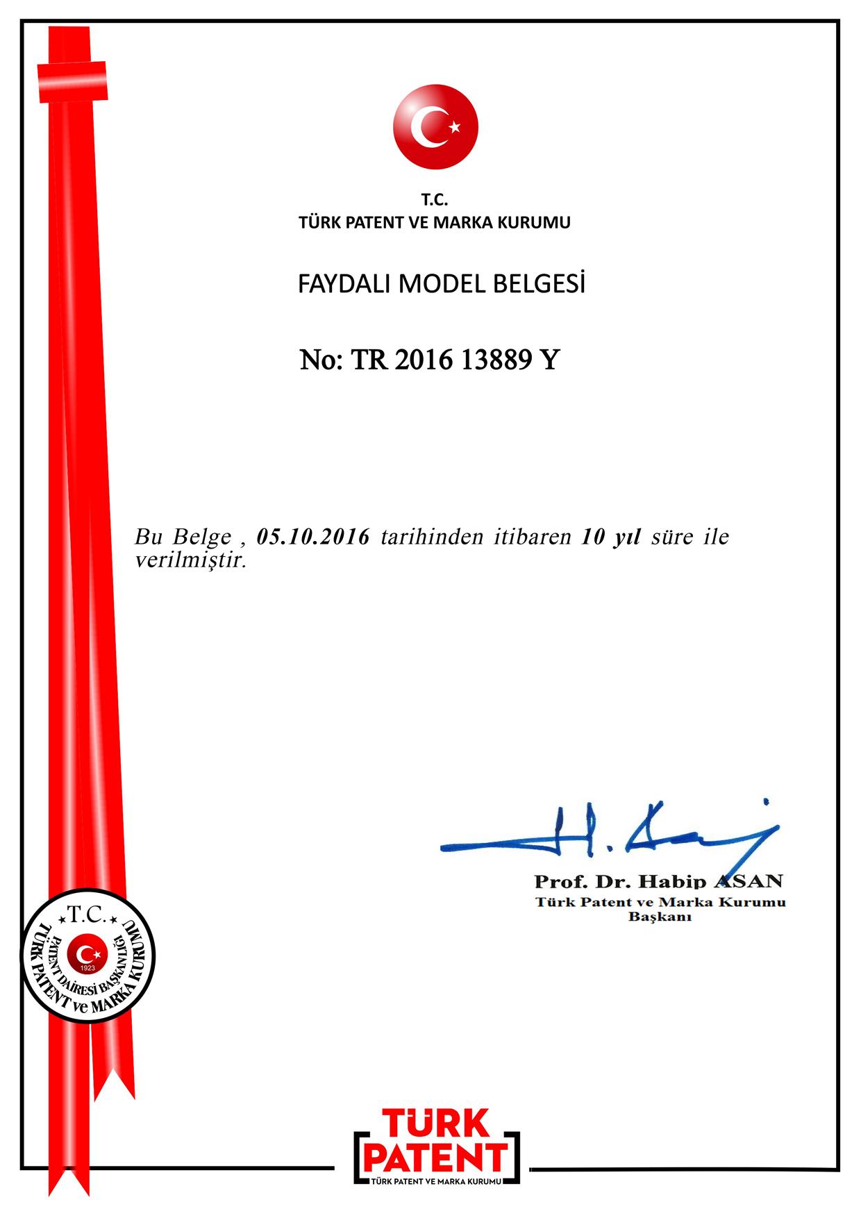 Destekli Bebek Banyo Filesi Patent 1