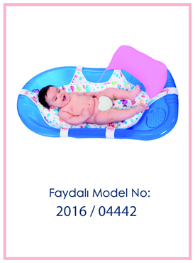 Destekli Bebek Banyo Filesi Patent