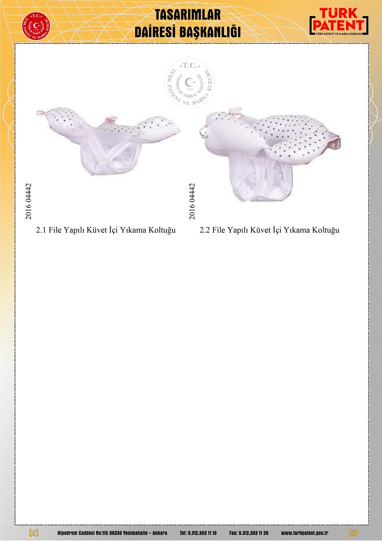 Bebek Yıkama Filesi Patent 6