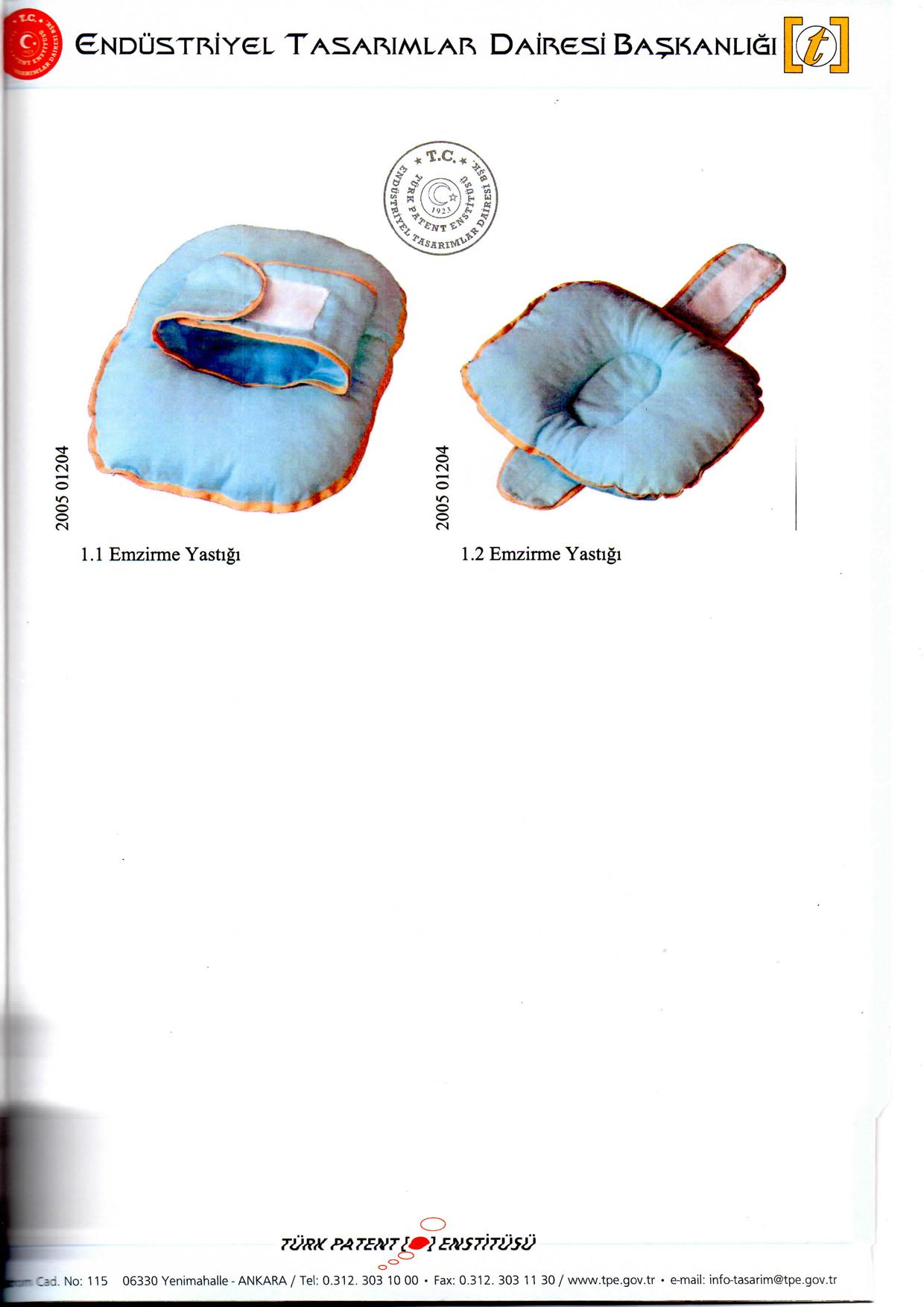 Emzirme Yastığı Patent 3