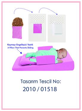 Çok Fonksiyonlu Bebek Reflü Yatağı Patent