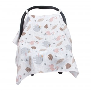 Muslin Infant Car Seat Cover