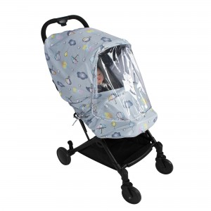 Patterned Luxury Baby Stroller Raincoat