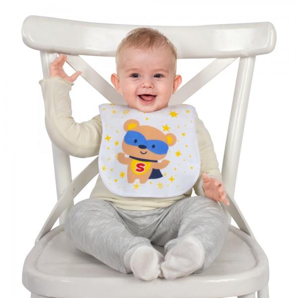 Cırtlı Havlu Bebek Mama Önlük