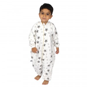 ORGANIC MUSLIN SLEEPING BAG 3 AGE