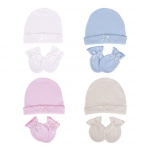 Bebek Şapka Eldiven Seti