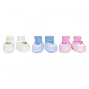 Baby Booties (in Tulle Packaging)