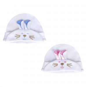 Nakışlı Kulaklı Şapka Tül Ambalajda