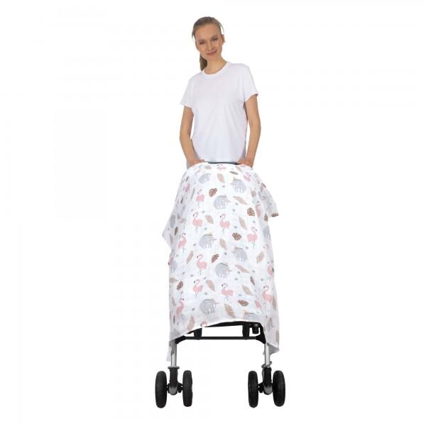 Muslin Stroller Cover