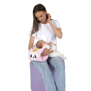 EEmbroidered Practical Breastfeeding Pillow