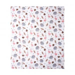 Patterned Muslin Blanket120x100cm
