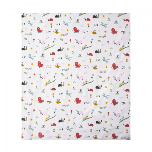 Patterned Muslin Blanket120x100cm