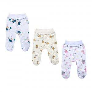 Pyjama Pants with Feet for Premature Baby
