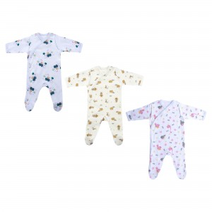 Baby Patterned Jumpsuit for Premature Baby