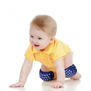 Supported Crawling Knee Pad