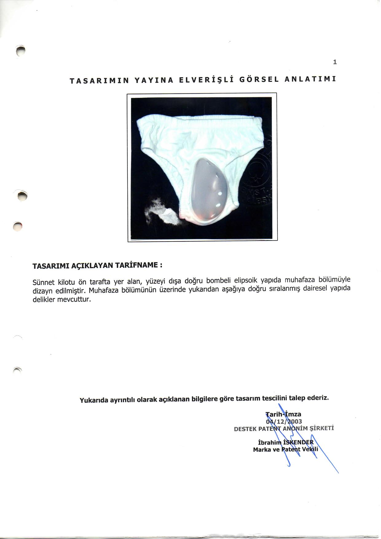 Sünnet Külodu Patent 2