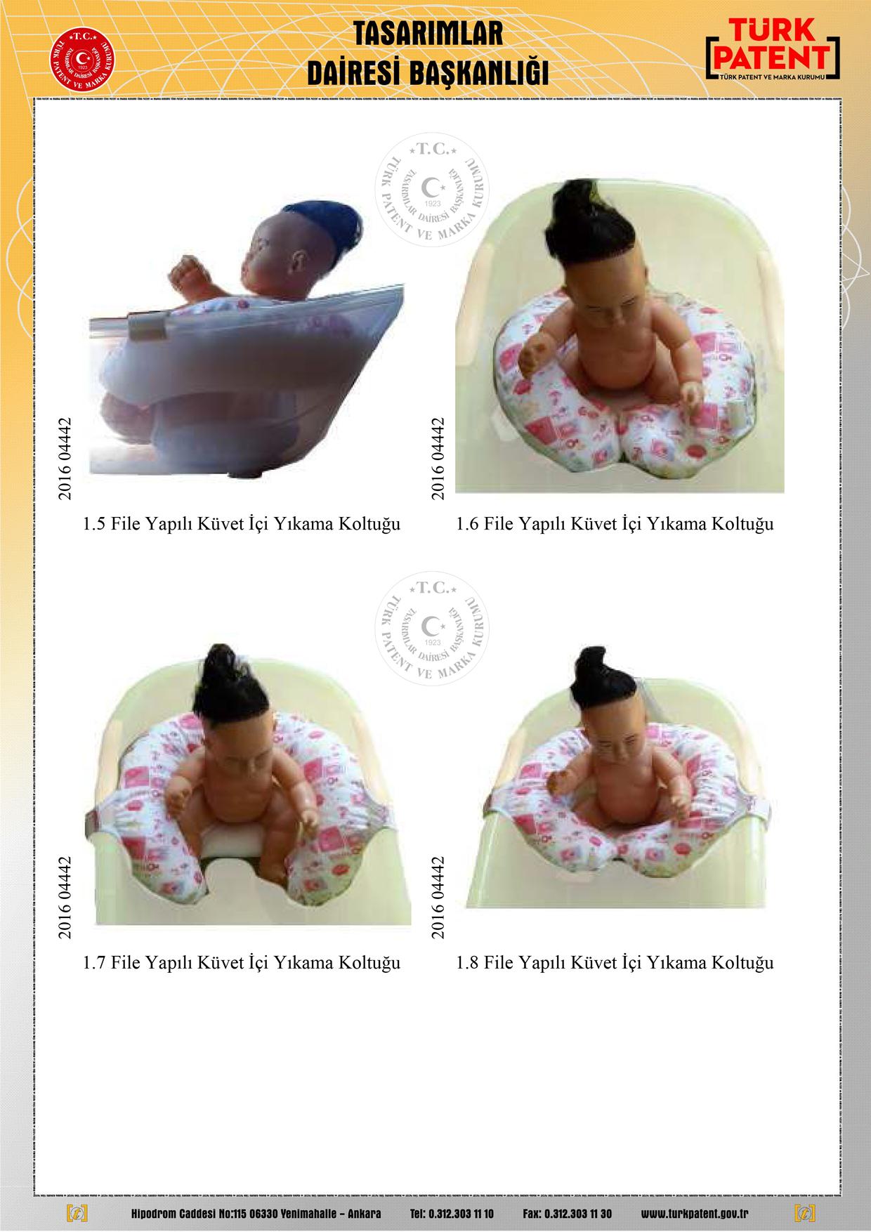 Bebek Yıkama Filesi Patent 5