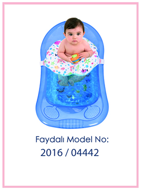 Oturaklı Bebek Banyo Filesi Patent