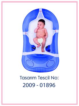 Çok Fonksiyonlu Bebek Banyo Filesi Patent
